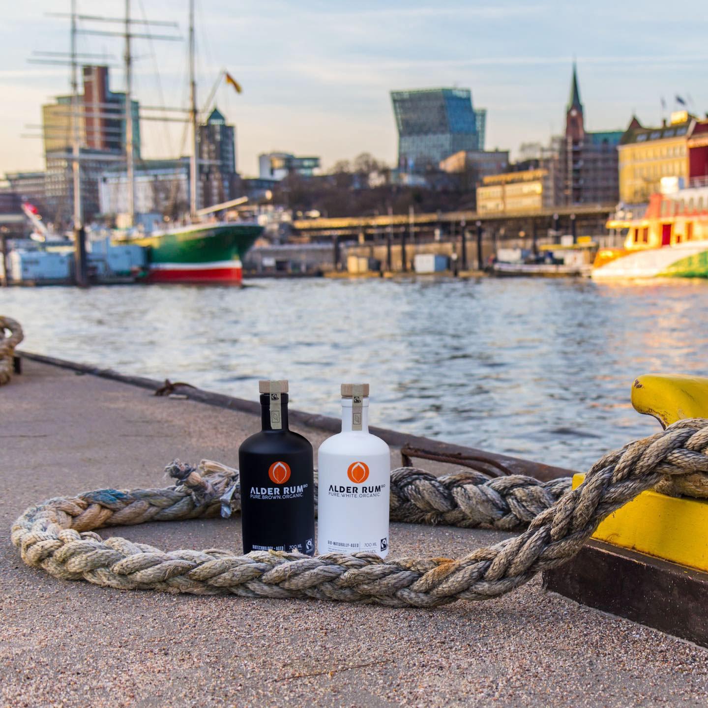 Alder Rum Hafen EDEKA Woytke in Hamburg