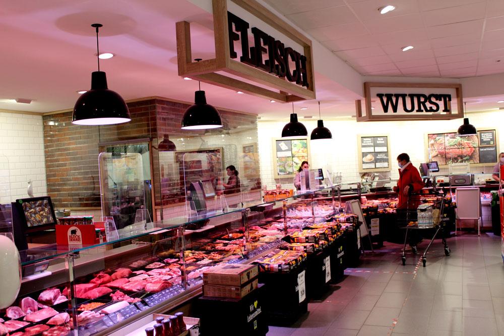 EDEKA Woytke in Hamburg Pezolddamm Fleisch und Wurst Theke